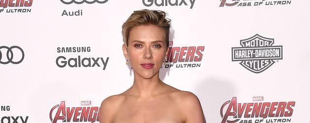 Scarlett Johansson in Hollywood