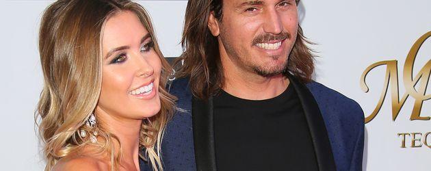 Audrina Patridge mit ihrem Verlobten Corey Bohan