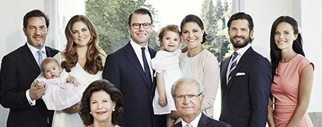 Prinz Carl Philip von Schweden, Madeleine von Schweden, Prinzessin Victoria von Schweden, Sofia Hell