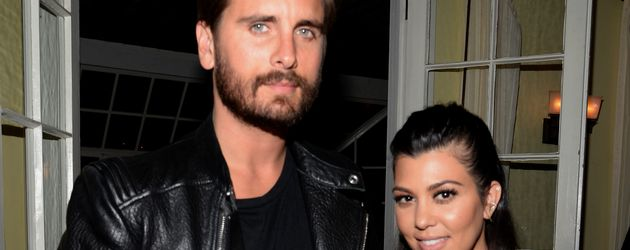 Scott Disick und Kourtney Kardashian 2015 in LA
