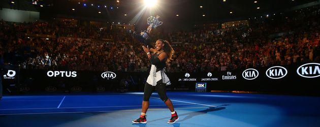 Serena Williams bei den Australian Open 2017