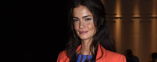 Shermine Shahrivar bei der Milan Fashion Week