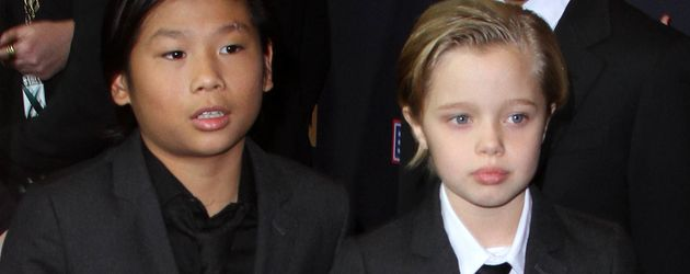 Shiloh Jolie-Pitt, Pax Thien Jolie-Pitt und Maddox Jolie-Pitt