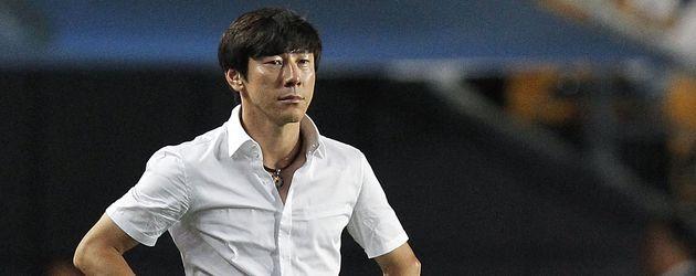 Shin Tae-Yong, der Fußballertrainer von Südkorea