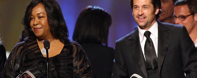 Patrick Dempsey und Shonda Rhimes