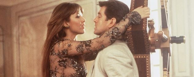 "Sophie Marceau und Pierce Brosnan in ""James Bond"""