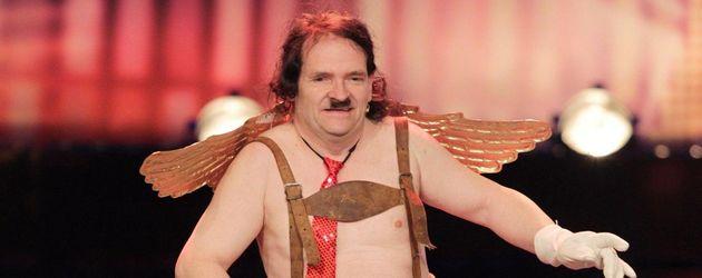 """Stefan Chone als """"Bauchrolle"""""""