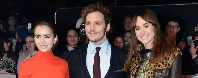 Lily Collins, Suki Waterhouse und Sam Claflin