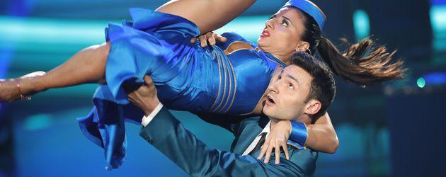 """Susi Kentikian und Robert Beitsch bei """"Let's Dance"""""""