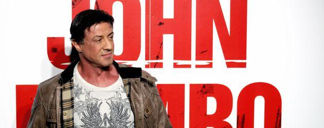"""Sylvester Stallone bei der Premiere von """"John Rambo"""" 2008"""