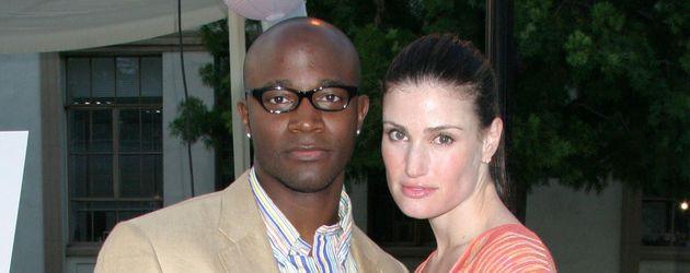 Taye Diggs und Idina Menzel