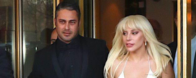 Taylor Kinney und Lady Gaga in New York