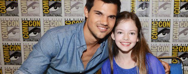 Taylor Lautner und Mackenzie Foy bei der San Diego Comic-Con 2012