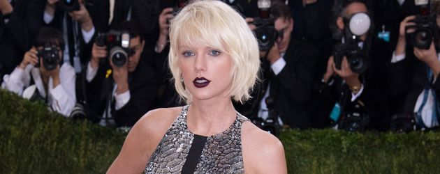 "Taylor Swift bei der ""MET-Gala"" in New York"