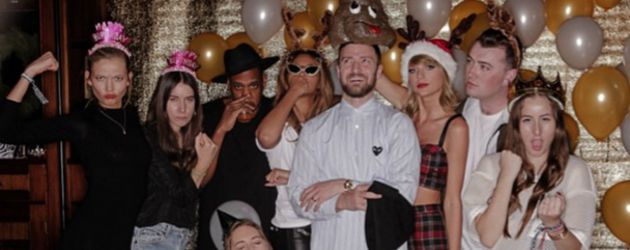 Taylor Swift, Jay-Z, Justin Timberlake, Sam Smith und Karlie Kloss