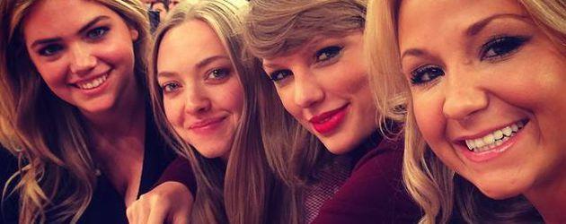 Taylor Swift, Kate Upton und Amanda Seyfried