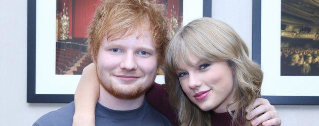 Taylor Swift und Ed Sheeran