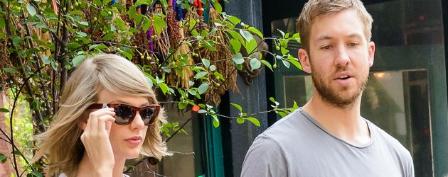 Taylor Swift und Calvin Harris in New York