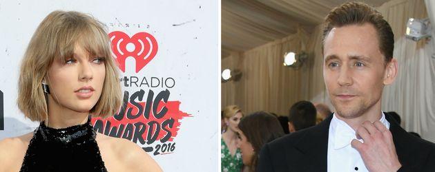 Taylor Swift und Tom Hiddleston