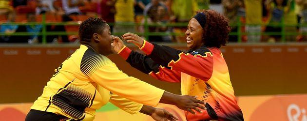 Teresa Almeida, Handballerin aus Angola