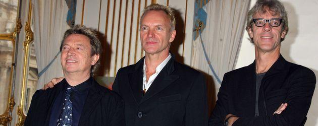 """Andy Summers, Sting und Stewart Copeland von """"The Police"""""""