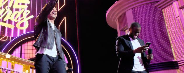 The Rock und Kevin Hart als Co-Moderatoren der 2016 MTV Movie Awards