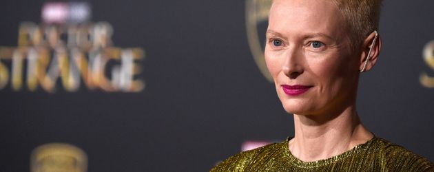 "Tilda Swinton im ""El Capitan Theater"" in Hollywood bei der Premiere von ""Doctor Strange"""
