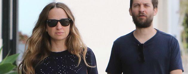 Schauspieler Tobey Maguire und Schmuckdesignerin Jennifer Meyer