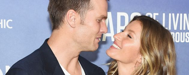 """Tom Brady und Gisele Bündchen auf der """"Years Of Living Dangerously""""-Premiere in NYC"""