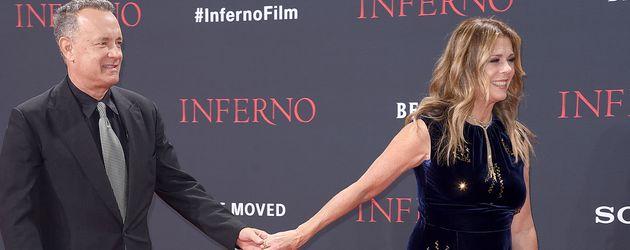 """Tom Hanks und Rita Wilson bei der """"Inferno""""-Premiere in Berlin"""
