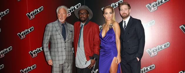 Rita Ora, Tom Jones und Will.i.am