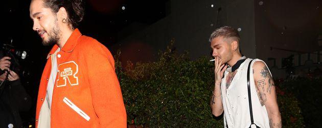 Tom und Bill Kaulitz in West Hollywood