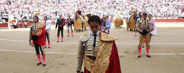 Torero Ivan Fandiño in Spanien