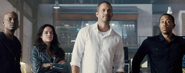 Michelle Rodriguez, Paul Walker, Ludacris und Tyrese Gibson