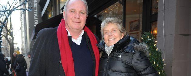 Uli Hoeneß mit Ehefrau Susanne
