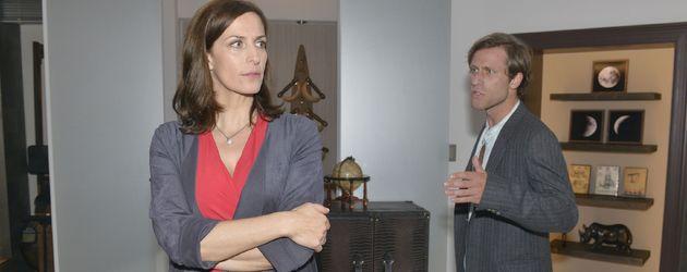 Ulrike Frank und Merlin Leonhardt bei GZSZ