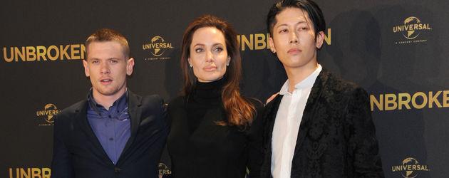 Angelina Jolie, Miyavi und Jack O'Connell
