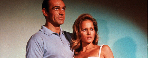 "Ursula Andress als Bondgirl in ""Dr. No"""