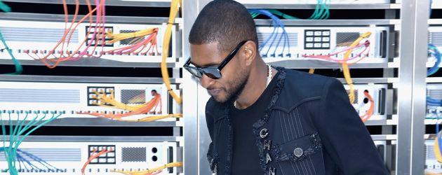 Usher bei der Pariser Fashion Week 2017