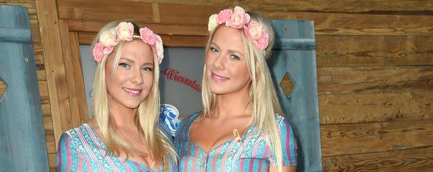 Valentina und Cheyenne Pahde (r.) auf dem Oktoberfest
