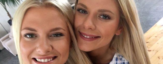 Valentina und Cheyenne Pahde (r.), deutsche Schauspielerinnen
