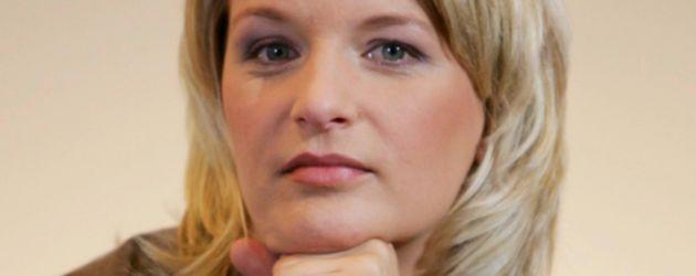 ZDF-Moderatorin bei der Teampräsentation für die Olympischen Winterspiele in Turin 2006
